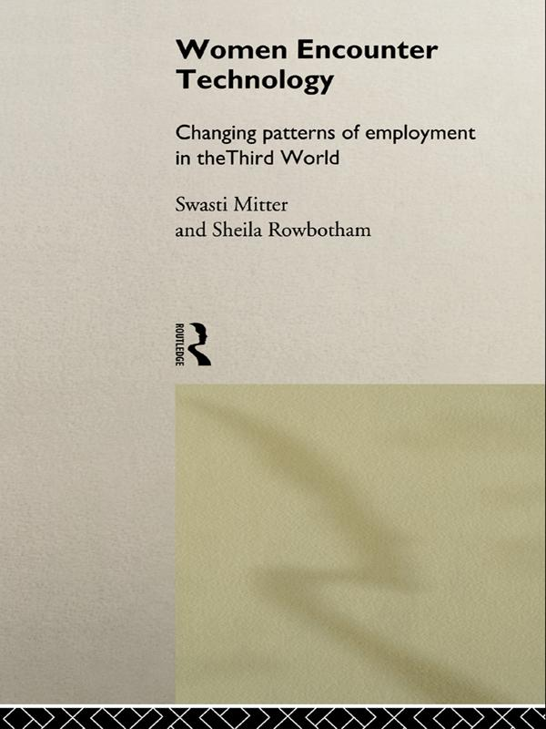Women Encounter Technology als eBook pdf