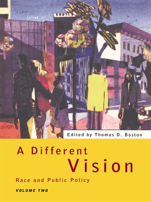 A Different Vision als eBook pdf