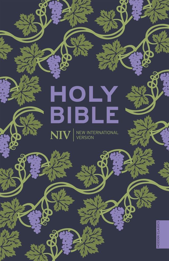 NIV Holy Bible (Hodder Classics) als Taschenbuch