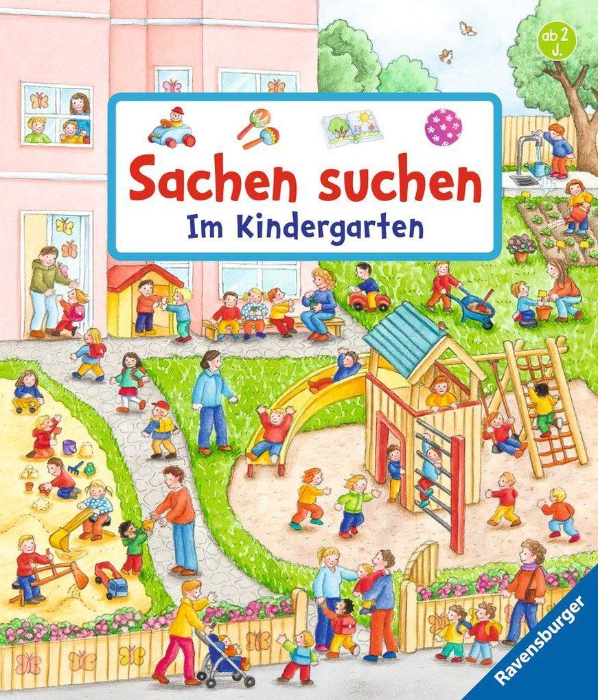Sachen suchen: Im Kindergarten als Buch