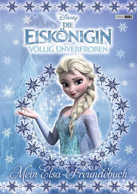 Disney Die Eiskönigin: Mein Elsa-Freundebuch als Buch (gebunden)