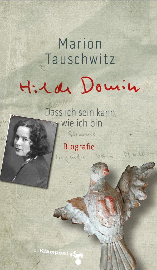 Hilde Domin als Buch (kartoniert)