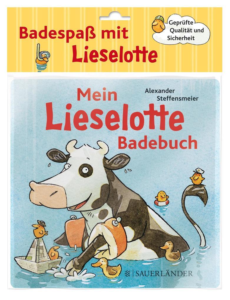 Mein Lieselotte-Badebuch als Buch (gebunden)