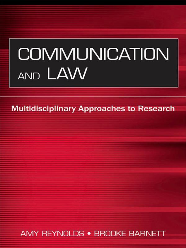 Communication and Law als eBook epub