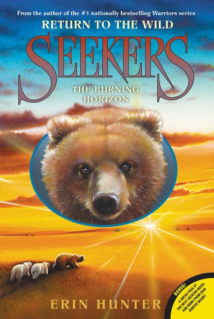 Seekers: Return to the Wild #5: The Burning Horizon als Taschenbuch