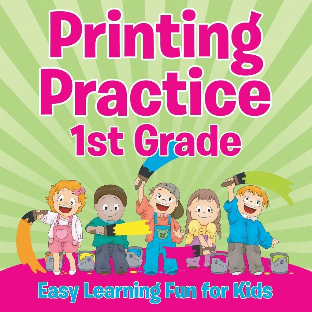 Printing Practice 1st Grade als Buch (kartoniert)