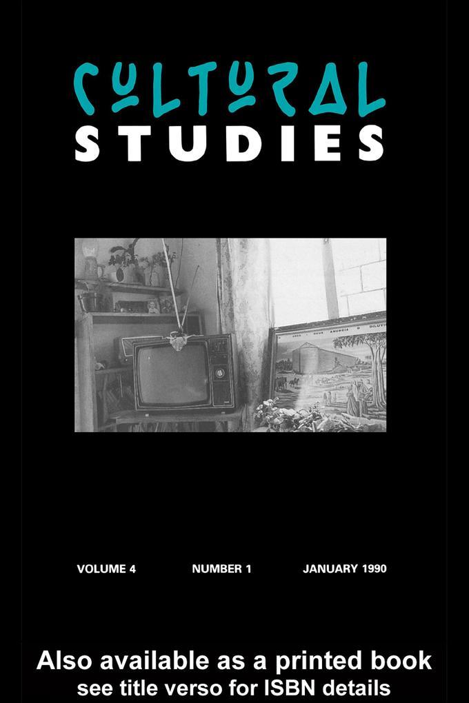 Cultural Studies als eBook epub