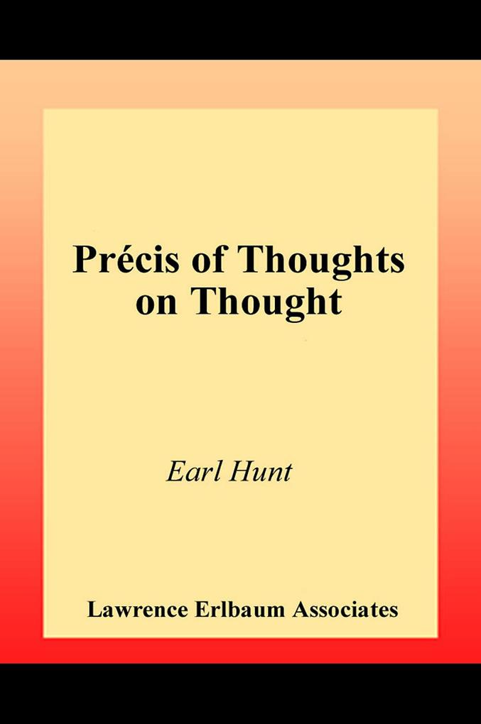 Thoughts on Thought als eBook epub