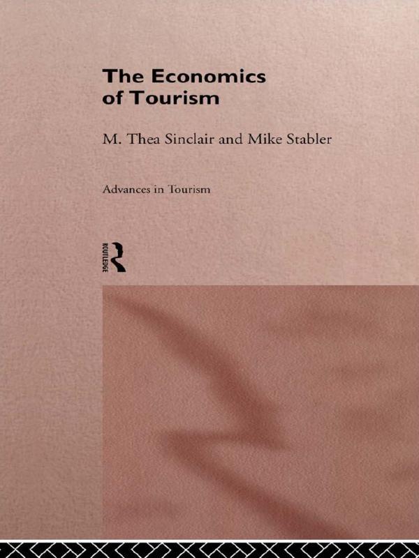 The Economics of Tourism als eBook epub