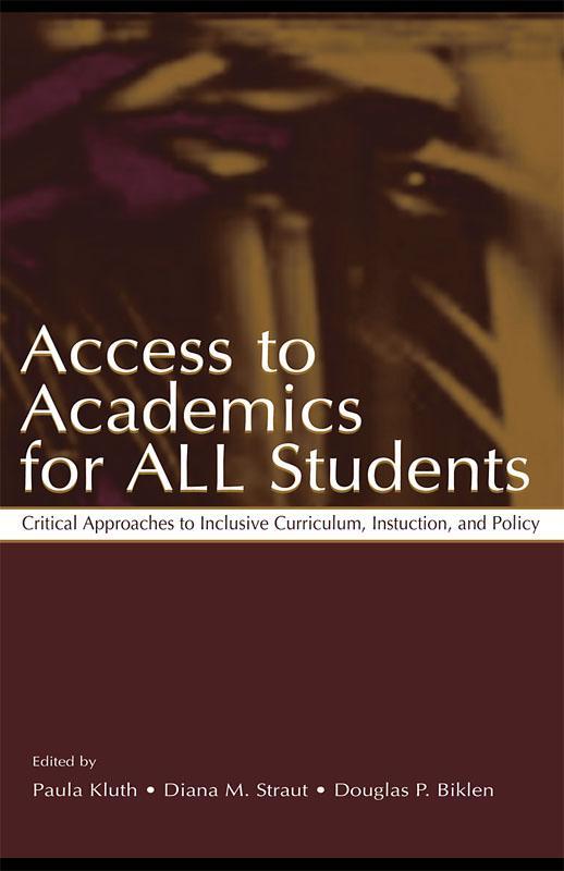 Access To Academics for All Students als eBook epub