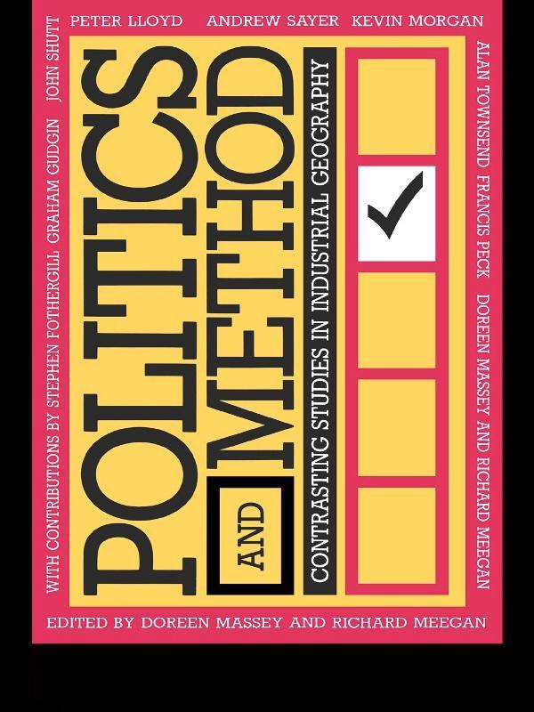 Politics and Method als eBook epub