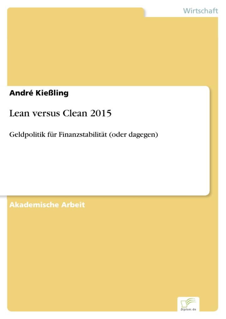 Lean versus Clean 2015 als eBook pdf