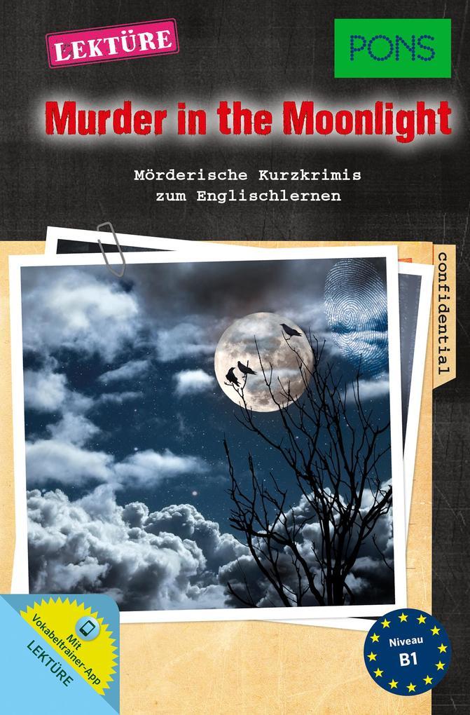 PONS Lektüre Murder in the Moonlight als Buch (kartoniert)