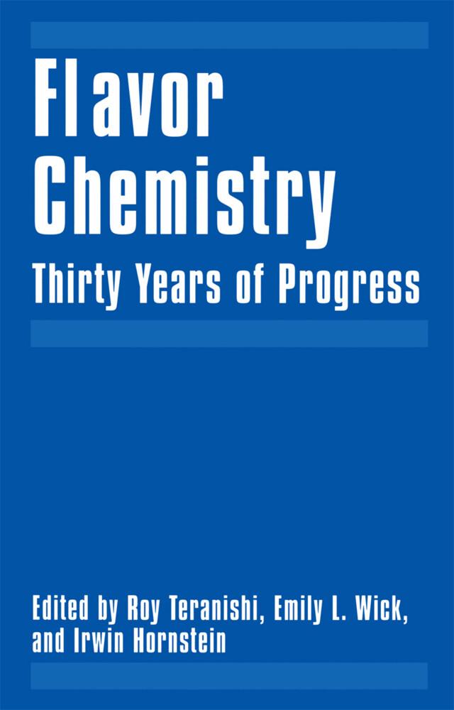 Flavor Chemistry als Buch (gebunden)