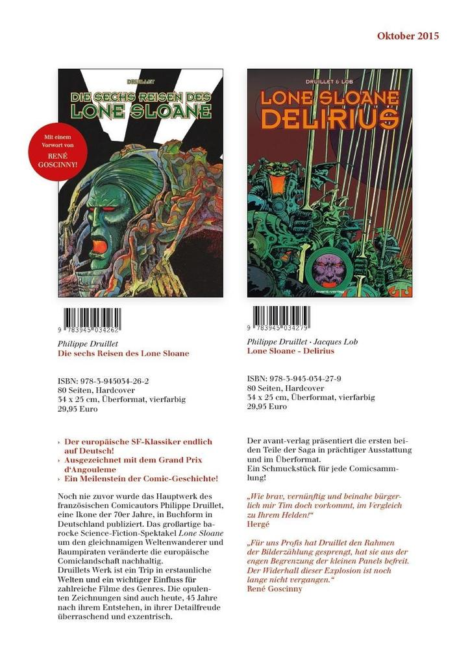 Lone Sloane - Delirius als Buch (gebunden)