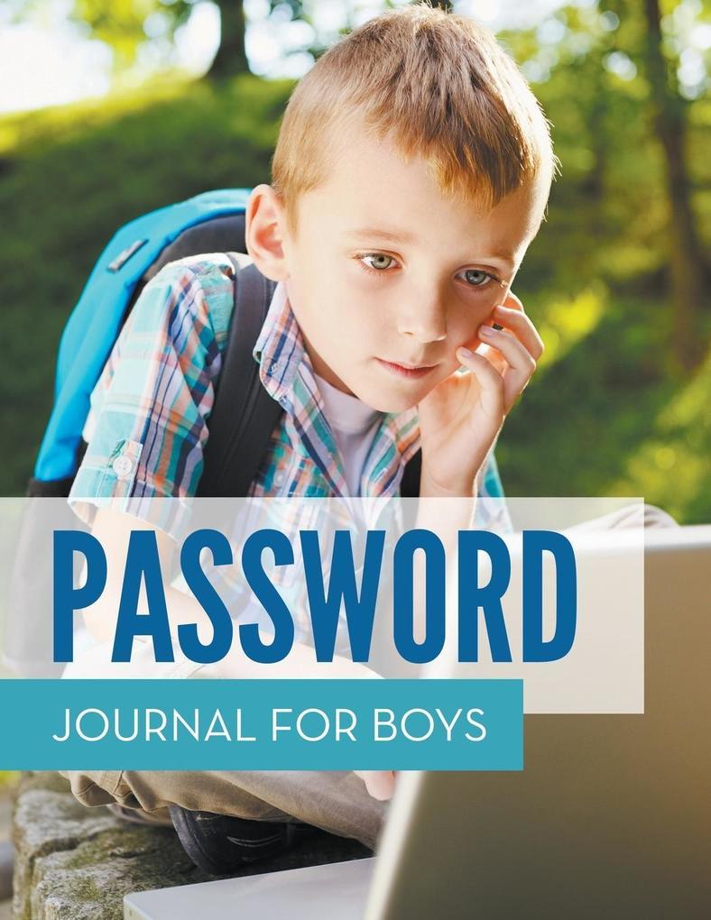 Password Journal For Boys als Buch (kartoniert)