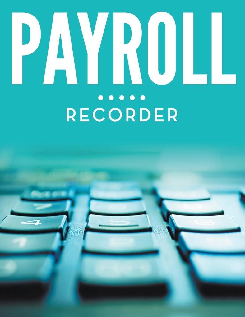 Payroll Recorder als Buch (kartoniert)