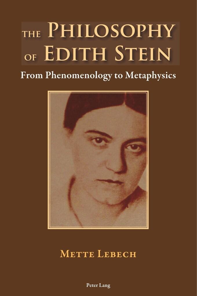 The Philosophy of Edith Stein als Buch (kartoniert)