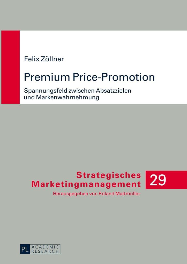 Premium Price-Promotion als Buch (gebunden)