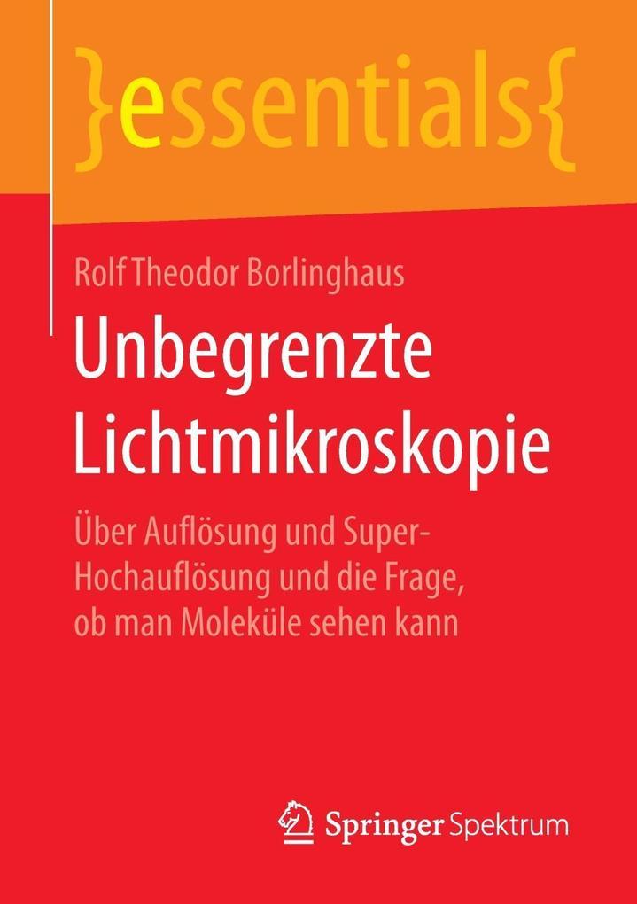 Unbegrenzte Lichtmikroskopie als Buch (kartoniert)
