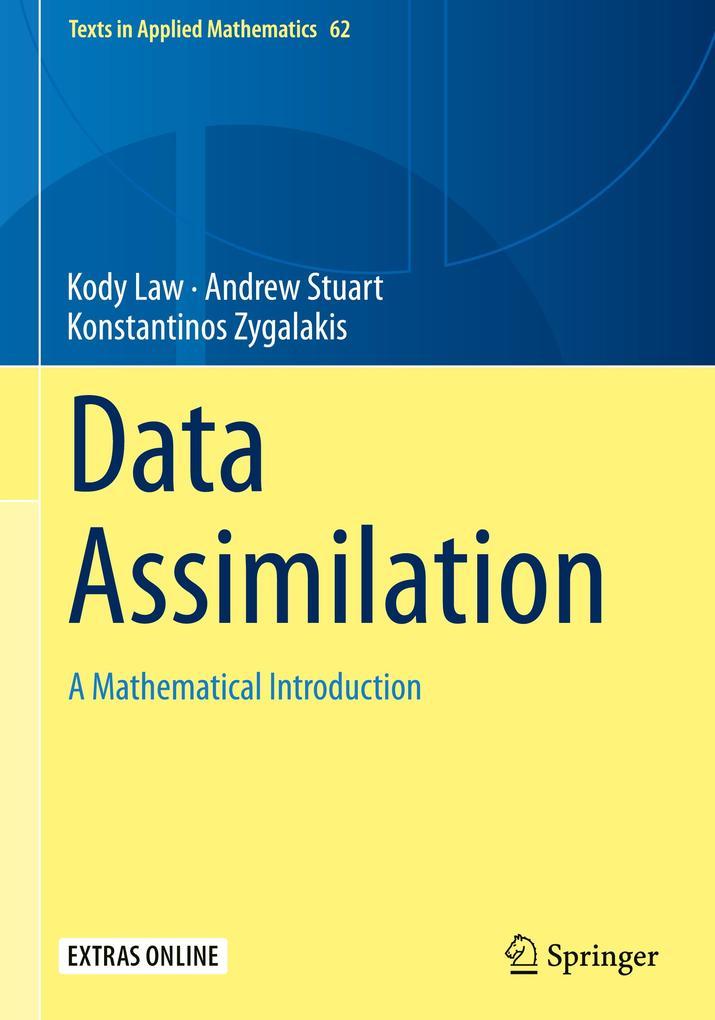 Data Assimilation als Buch (gebunden)