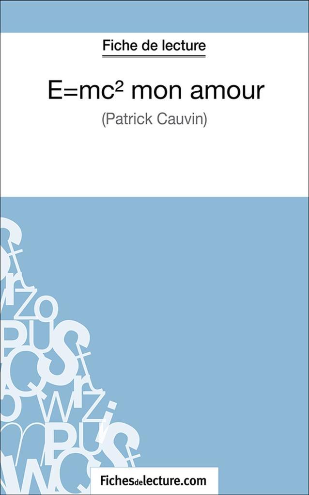 E=mc2 mon amour als eBook epub