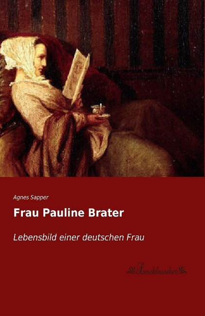 Frau Pauline Brater als Buch (kartoniert)
