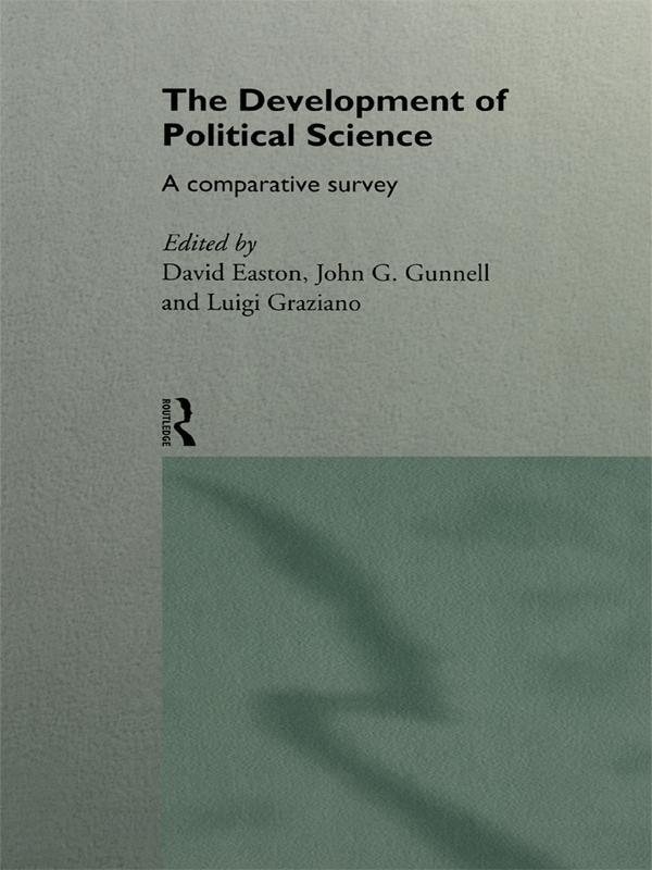 The Development of Political Science als eBook epub