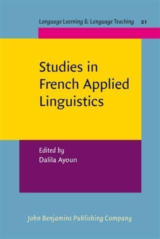 Studies in French Applied Linguistics als eBook pdf