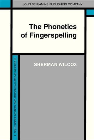 Phonetics of Fingerspelling als eBook pdf