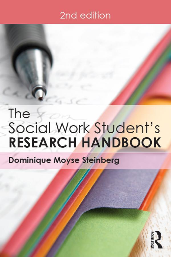 The Social Work Student's Research Handbook als eBook pdf