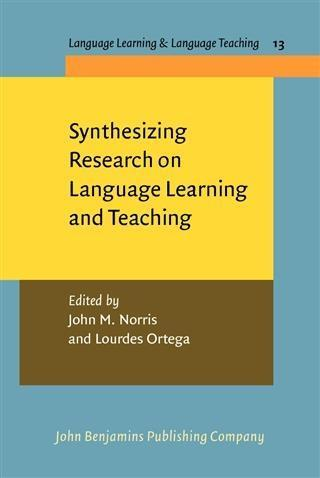 Synthesizing Research on Language Learning and Teaching als eBook pdf