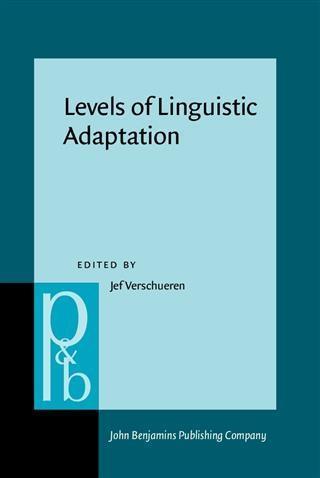 Levels of Linguistic Adaptation als eBook pdf