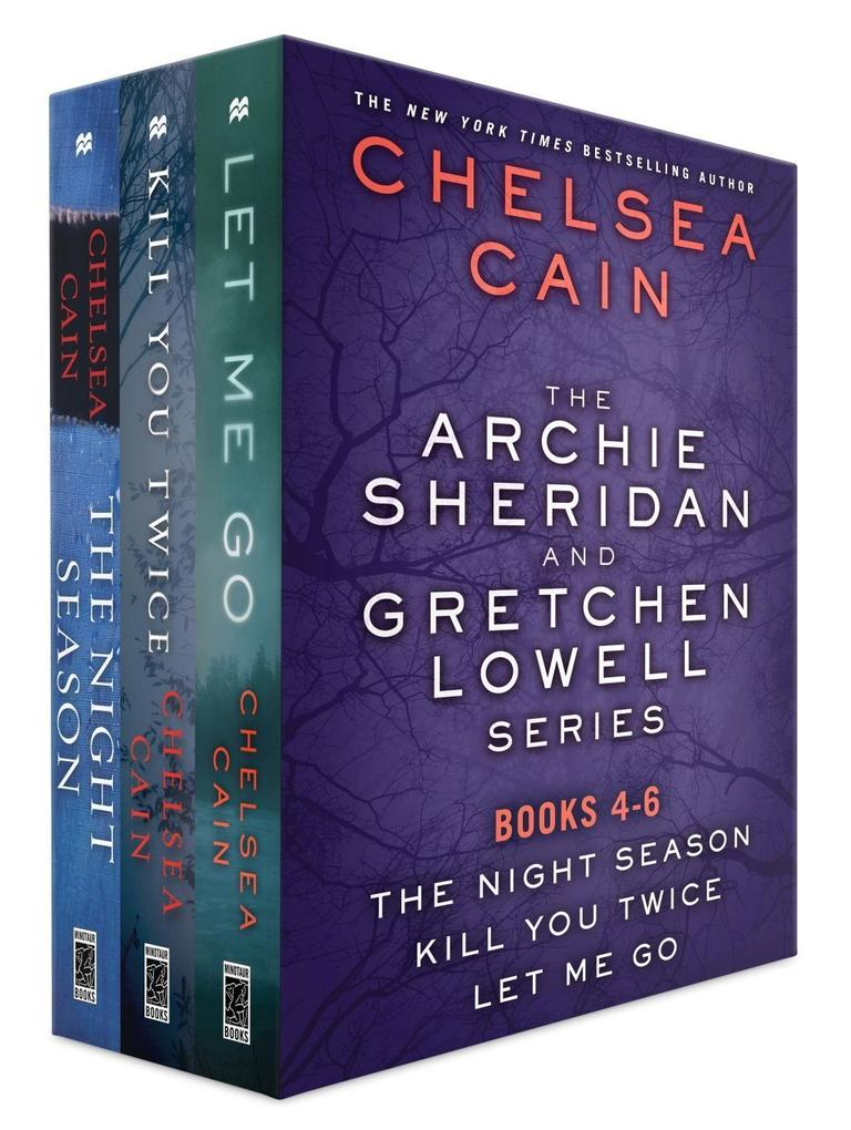 The Archie Sheridan and Gretchen Lowell Series, Books 4-6 als eBook epub