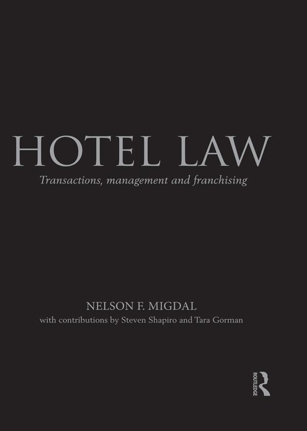 Hotel Law als eBook epub