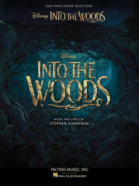 Into the Woods: Easy Piano Selections from the Disney Movie als Taschenbuch