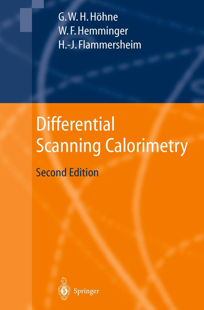 Differential Scanning Calorimetry als Buch (gebunden)
