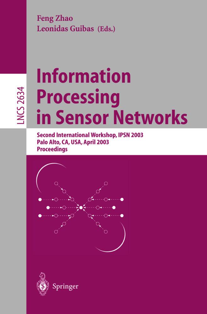 Information Processing in Sensor Networks als Buch (kartoniert)