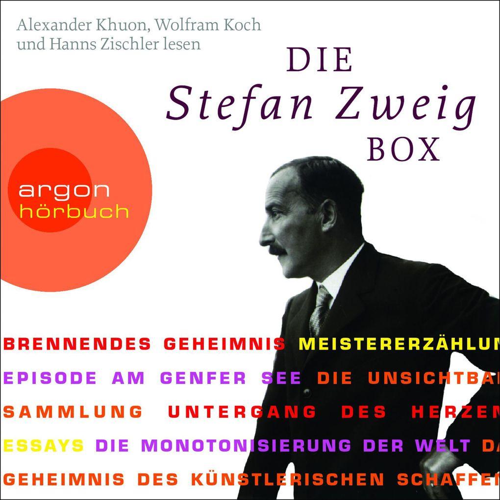Die Stefan Zweig Box als Hörbuch Download