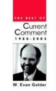The Best of Current Comment: 1985-2003 als Taschenbuch