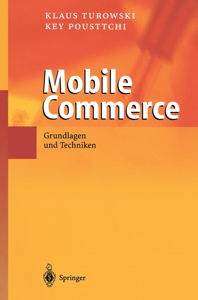 Mobile Commerce als Buch (kartoniert)