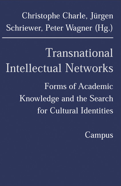 Transnational Intellectual Networks als Buch (kartoniert)