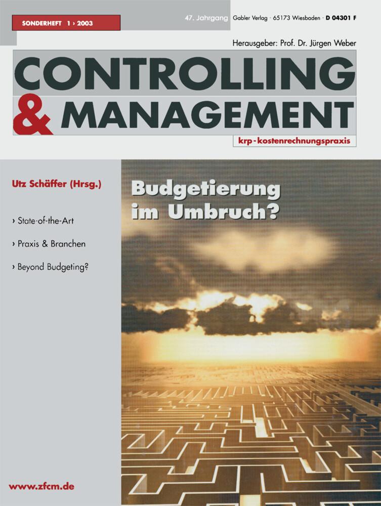 Budgetierung im Umbruch ? als Buch (kartoniert)