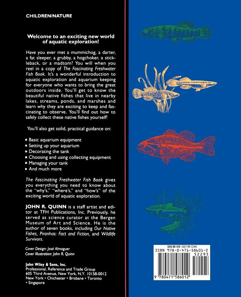 The Fascinating Freshwater Fish Book als Taschenbuch
