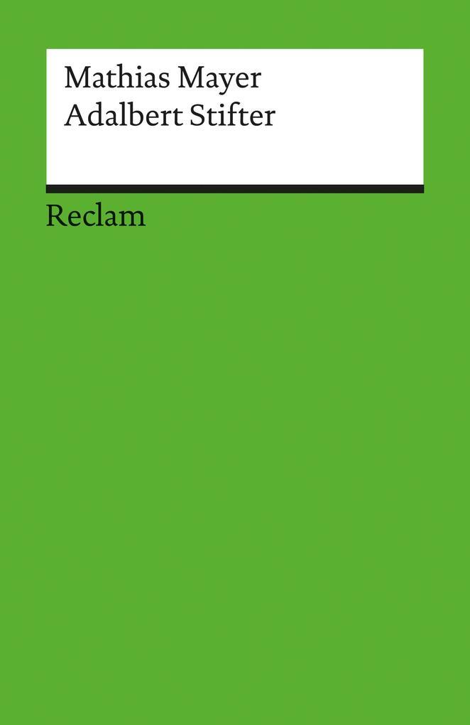 Adalbert Stifter als eBook pdf