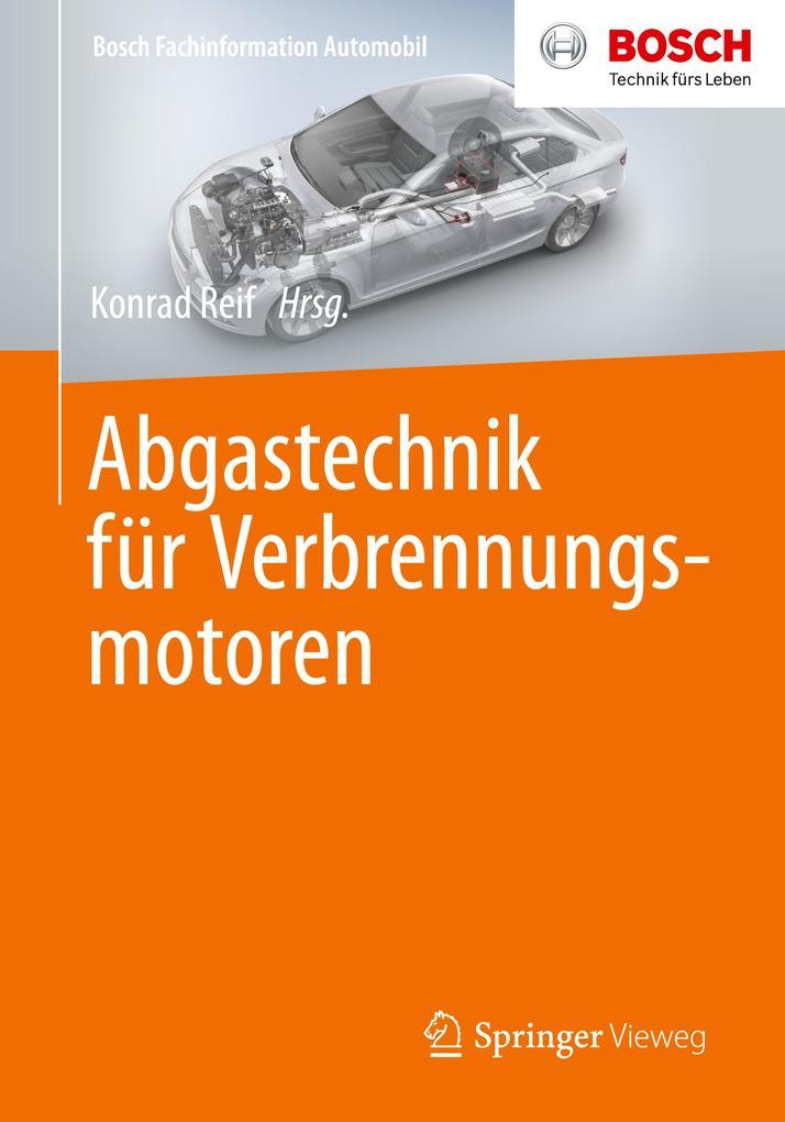 Abgastechnik für Verbrennungsmotoren als Buch (kartoniert)