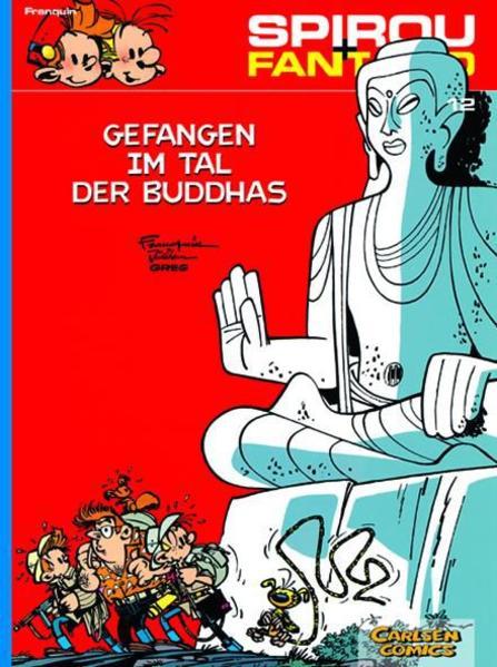 Spirou und Fantasio 12. Gefangen im Tal der Buddhas als Buch (kartoniert)