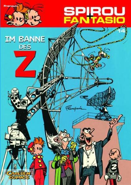 Spirou und Fantasio 14. Im Banne des Z als Buch (kartoniert)