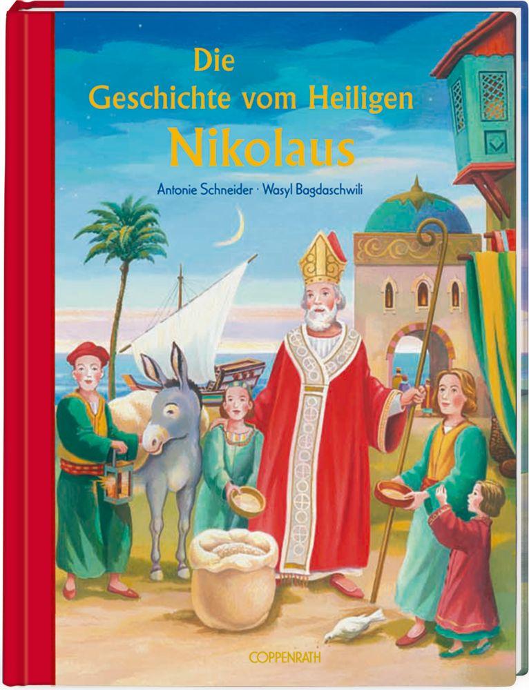 Die Geschichte vom Heiligen Nikolaus als Buch (gebunden)