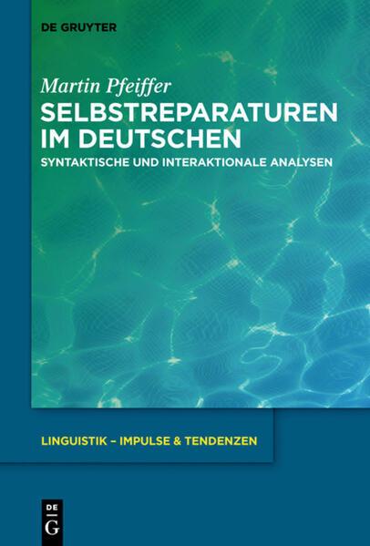Selbstreparaturen im Deutschen als Buch (gebunden)